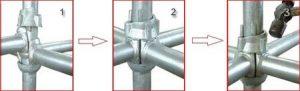 Cuplok locking system